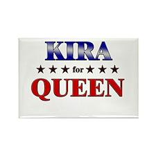 KIRA for queen Rectangle Magnet