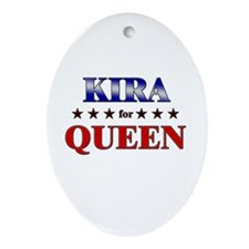 KIRA for queen Oval Ornament