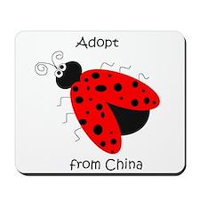 Adopt China Ladybug Mousepad