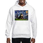 Starry Night / Pomeranian(b&t) Hooded Sweatshirt