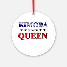 KIMORA for queen Ornament (Round)