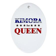 KIMORA for queen Oval Ornament