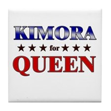KIMORA for queen Tile Coaster