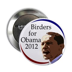 Birders for Obama 2012 Button