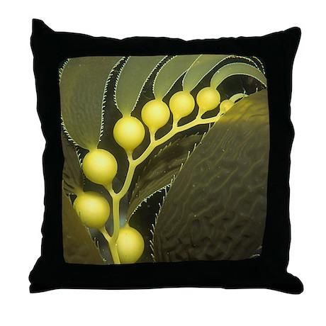 Kelp Bulbs Throw Pillow