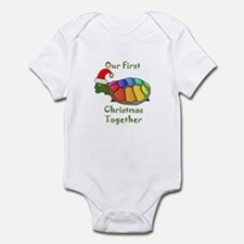 Our First Christmas Together Infant Bodysuit