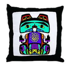 Sun Beaver Throw Pillow