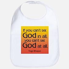 GOD IN ALL Bib