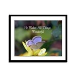 Eastern Tailed Blue Butterfly with