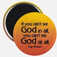 GOD IN ALL Magnet