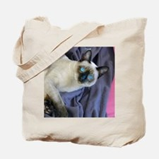 Tote Bag - Sam, the Siamese cat