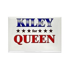 KILEY for queen Rectangle Magnet