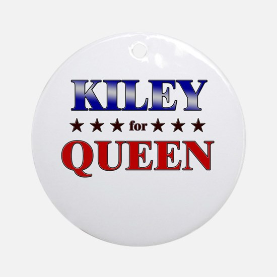 KILEY for queen Ornament (Round)