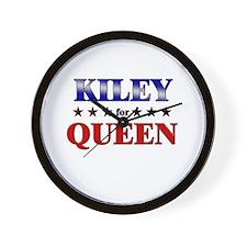 KILEY for queen Wall Clock