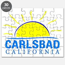 Cute California girl Puzzle