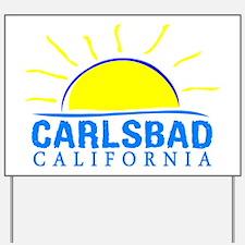 Unique California flag Yard Sign