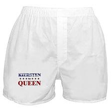KIERSTEN for queen Boxer Shorts