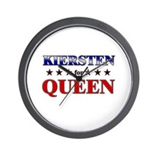 KIERSTEN for queen Wall Clock
