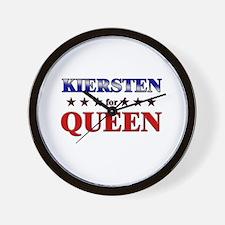 KIERSTEN for queen Wall Clock