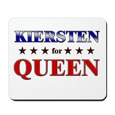 KIERSTEN for queen Mousepad