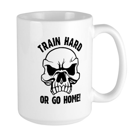 Train Hard Large Mug