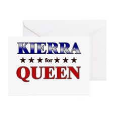 KIERRA for queen Greeting Cards (Pk of 20)