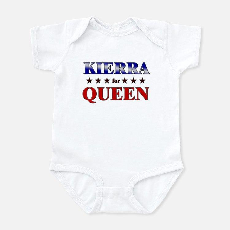 KIERRA for queen Infant Bodysuit