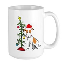 Jack Russell Christmas Mug