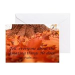 Tell Everyone Scripture Greeting Card