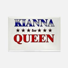KIANNA for queen Rectangle Magnet