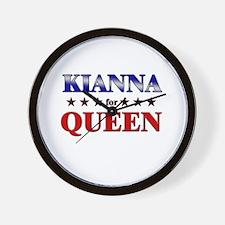 KIANNA for queen Wall Clock