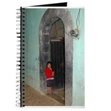 Girl in Doorway Journal