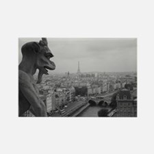 Notre Dame Gargoyle Rectangle Magnet
