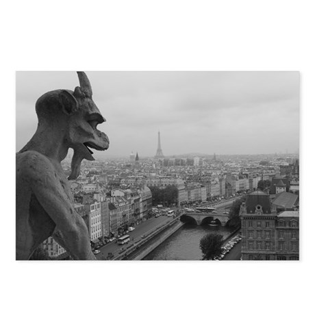 Notre Dame Gargoyle Postcards (Package of 8)