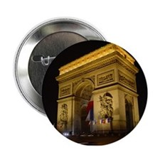 Arc de Triumph at night Button