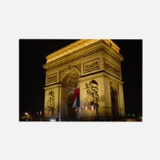 Arc de Triumph at night Rectangle Magnet