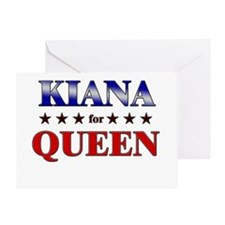 KIANA for queen Greeting Card