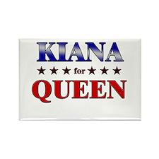 KIANA for queen Rectangle Magnet