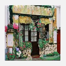 French Shop Tile Coaster