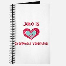 Jake is Grandma's Valentine Journal