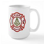 Masonic Fire Fighter Large Mug