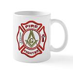 Masonic Fire Fighter Mug