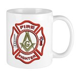 Masonic Fire Fighter Mug