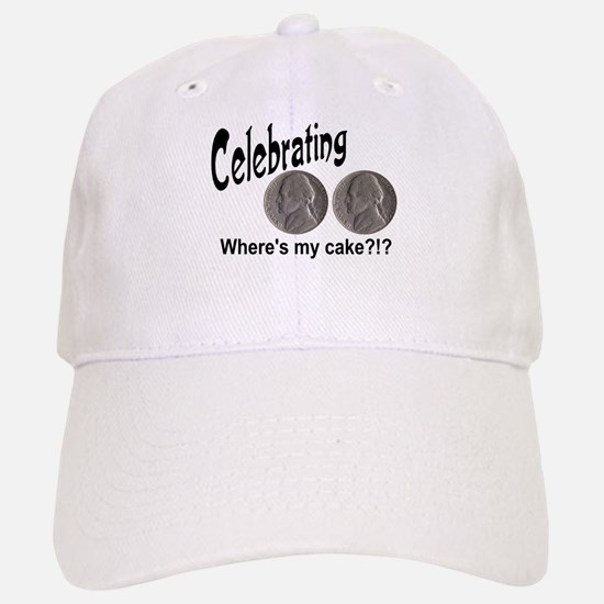 55 Cake?!?!? Baseball Baseball Cap