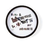 Runaway Bride/Divorce Wall Clock