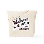 Runaway Bride/Divorce Tote Bag