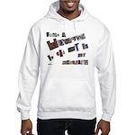 Runaway Bride/Divorce Hooded Sweatshirt