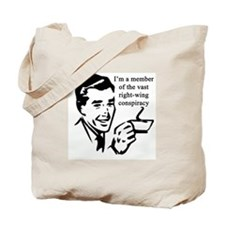 Member of the right-wing cons Tote Bag