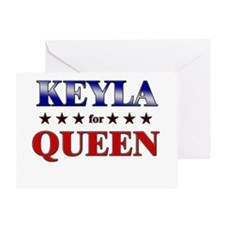 KEYLA for queen Greeting Card