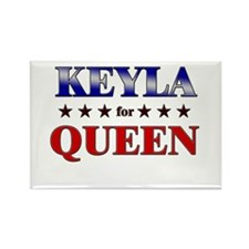 KEYLA for queen Rectangle Magnet